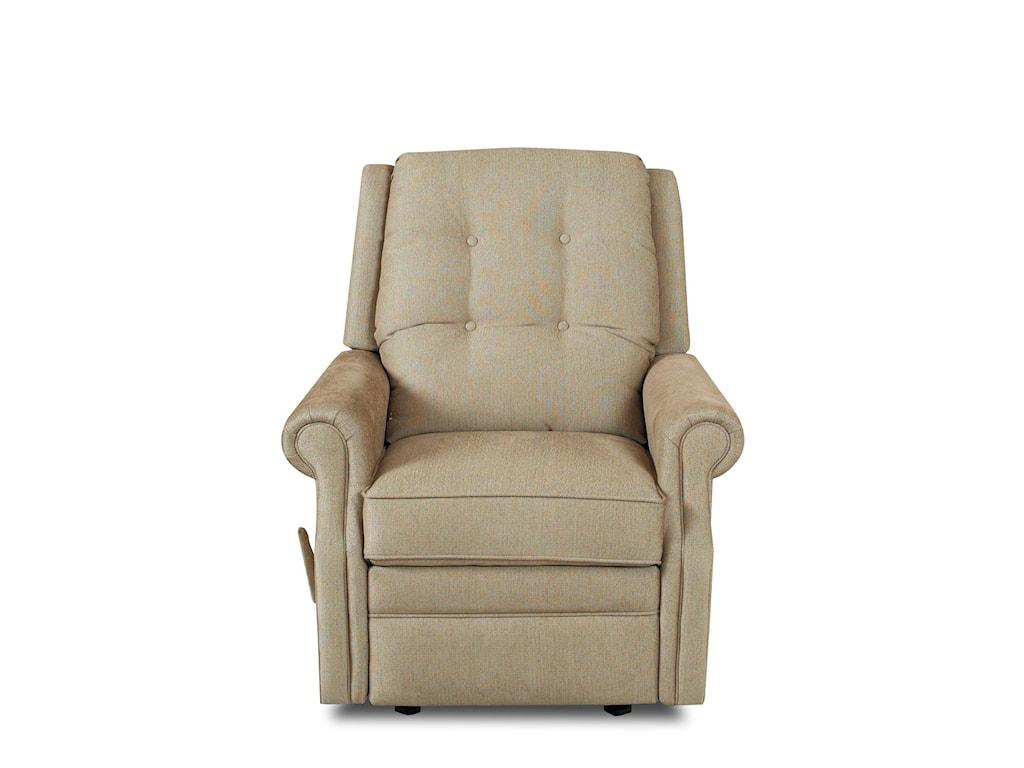 Klaussner Sand KeyManual Reclining Chair