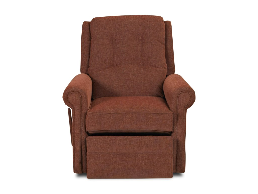 Klaussner Sand KeyManual Swivel Rocking Reclining Chair