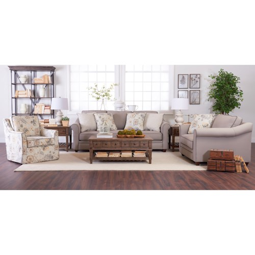Klaussner Sandy Ridge Living Room Group