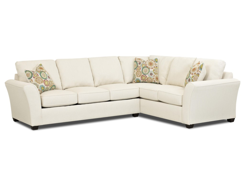 Klaussner SedgewickTransitional Sectional Sofa