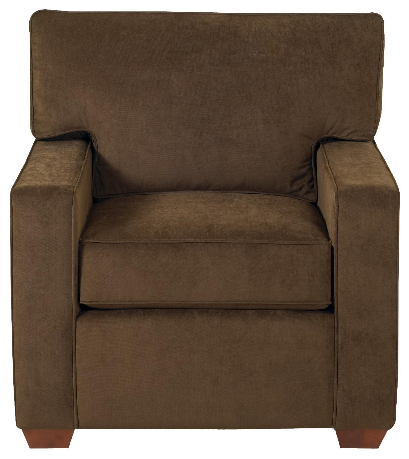 Klaussner Selection K50000 C Modern Living Room Chair | Pilgrim Furniture  City | Upholstered Chairs