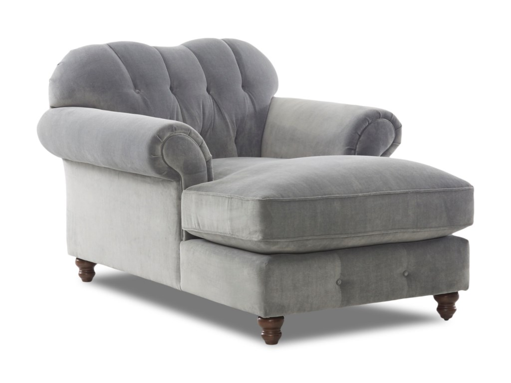 Klaussner ShelbyChaise (no nails)