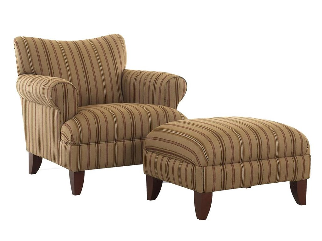 Elliston Place SimoneUpholstered Chair and Ottoman