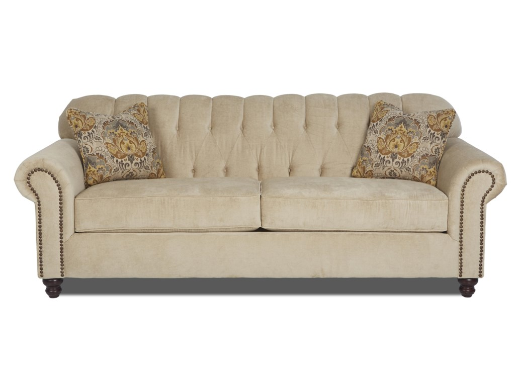 Klaussner SinclairTraditional Stationary Sofa