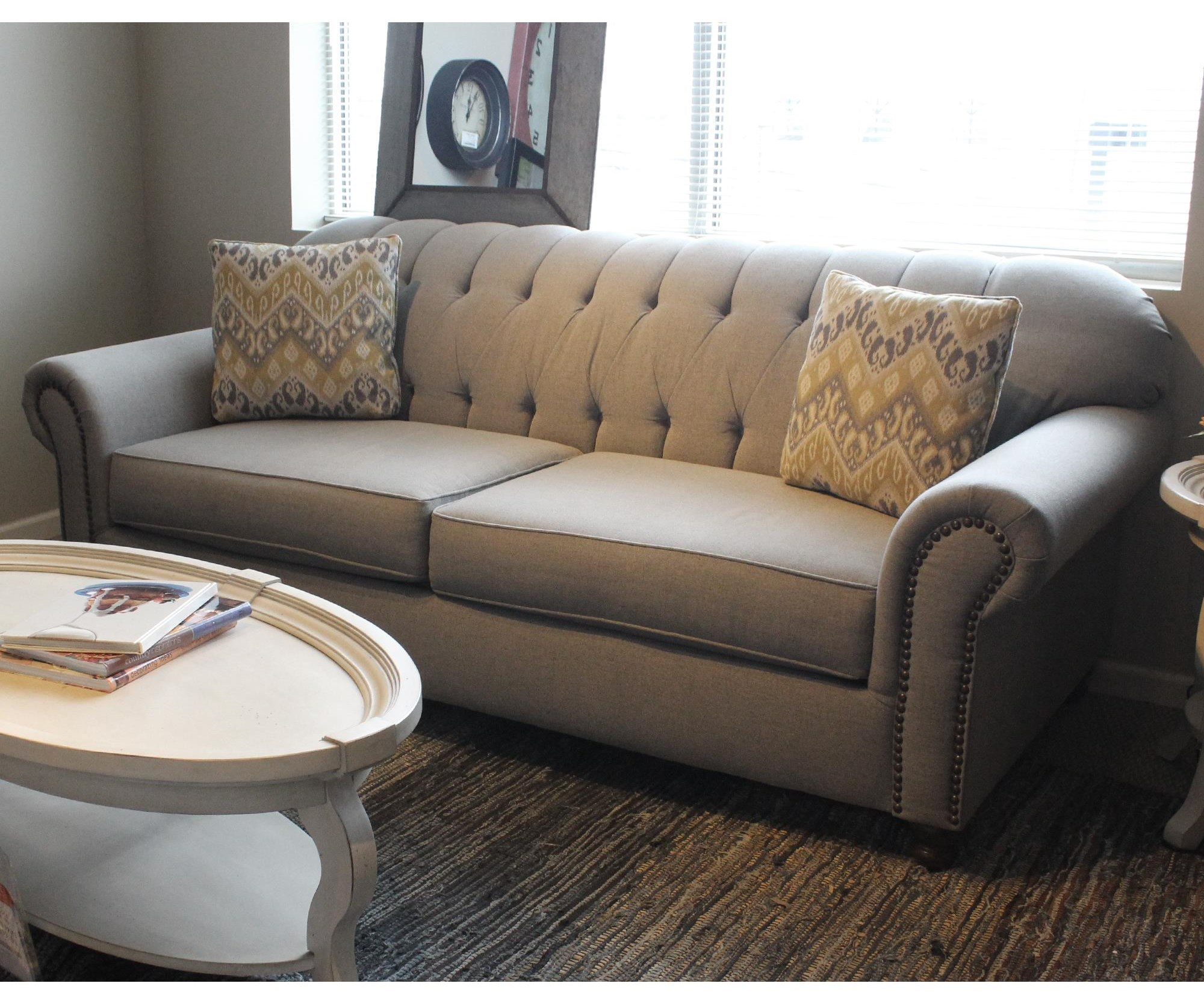 Attractive Belfort Basics ScarlettTraditional Stationary Sofa ...