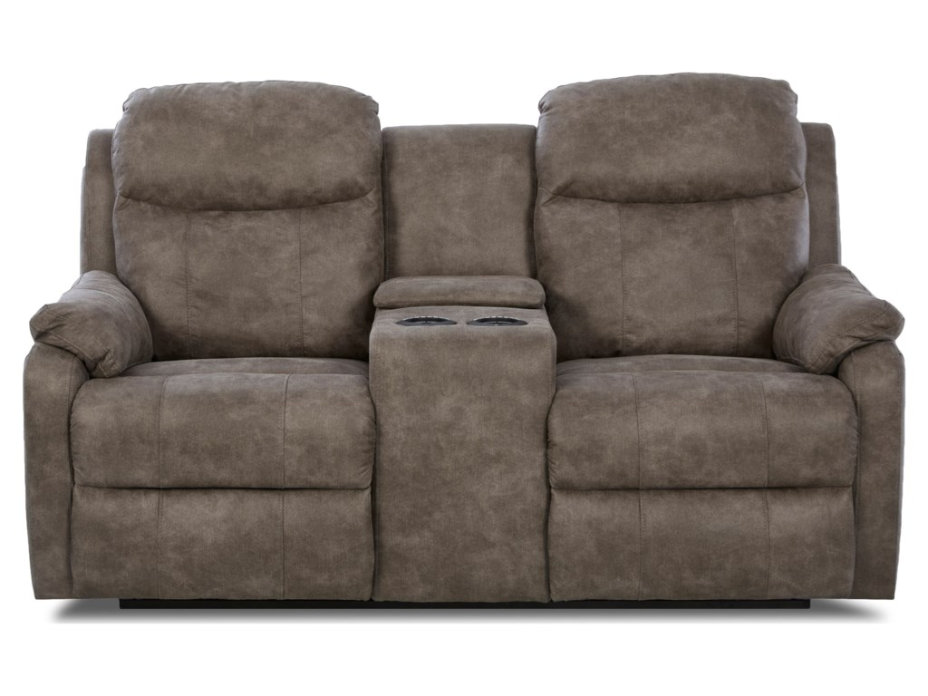 Klaussner SolitairePower Reclining LS w/ Console & Pwr Head