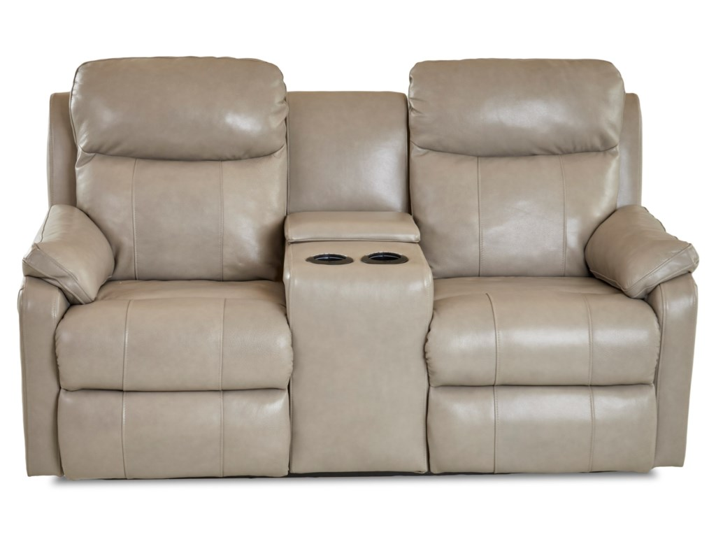 Klaussner SolitairePower Reclining LS w/ Console