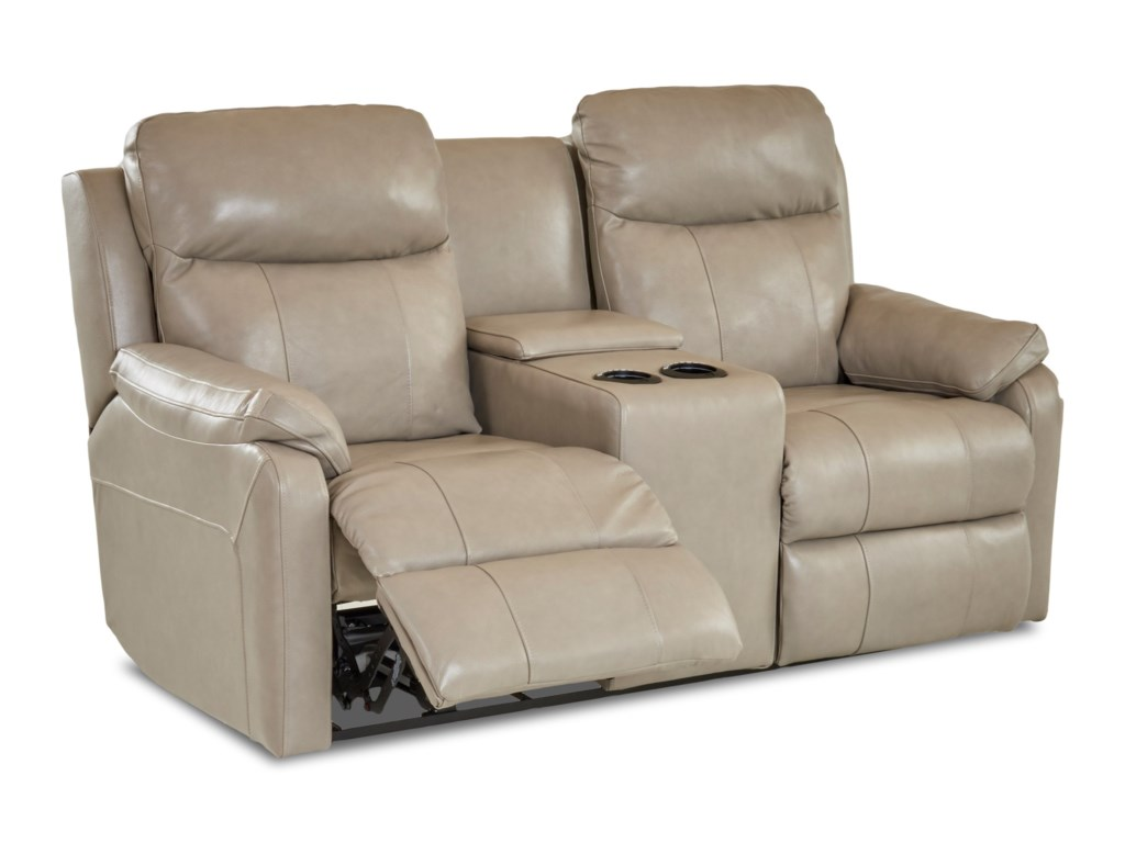Simple Elegance SolitairePower Reclining LS w/ Console & Pwr Head/Lum