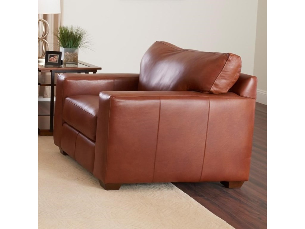Klaussner Southport Lt68700 C Contemporary Leather Chair