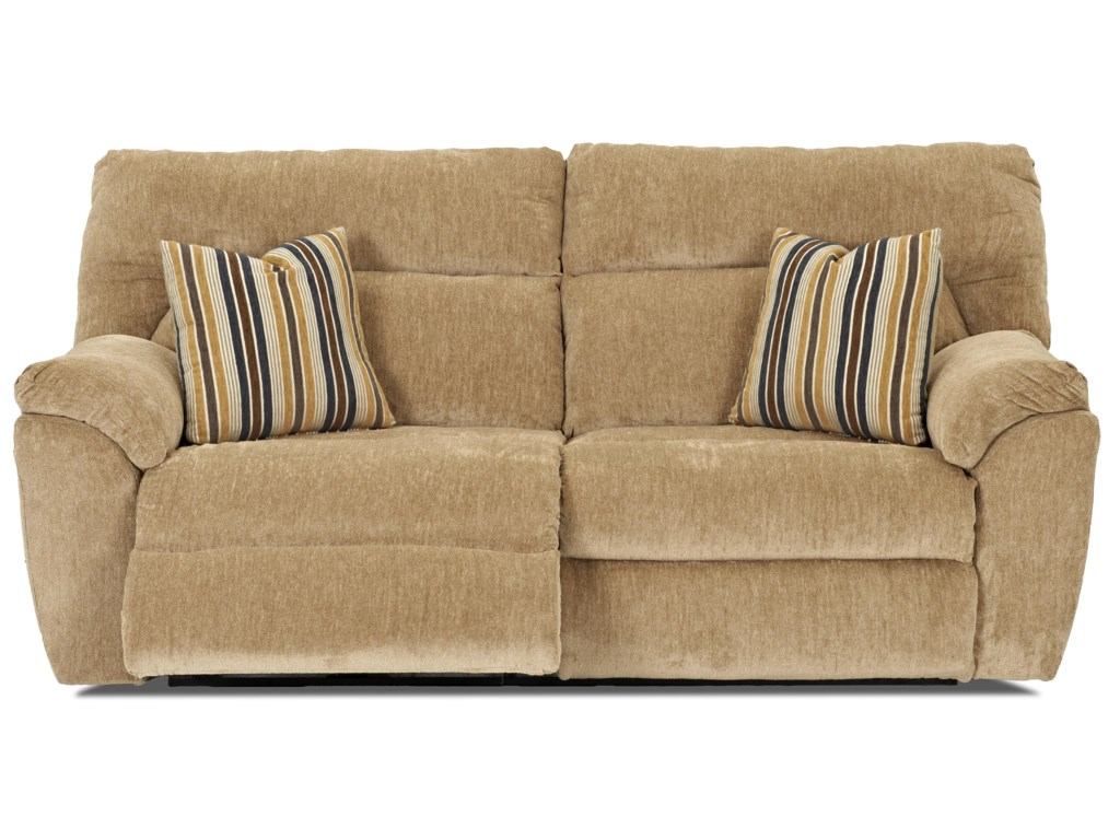 Klaussner St AndrewCasual Reclining 2 Over 2 Sofa