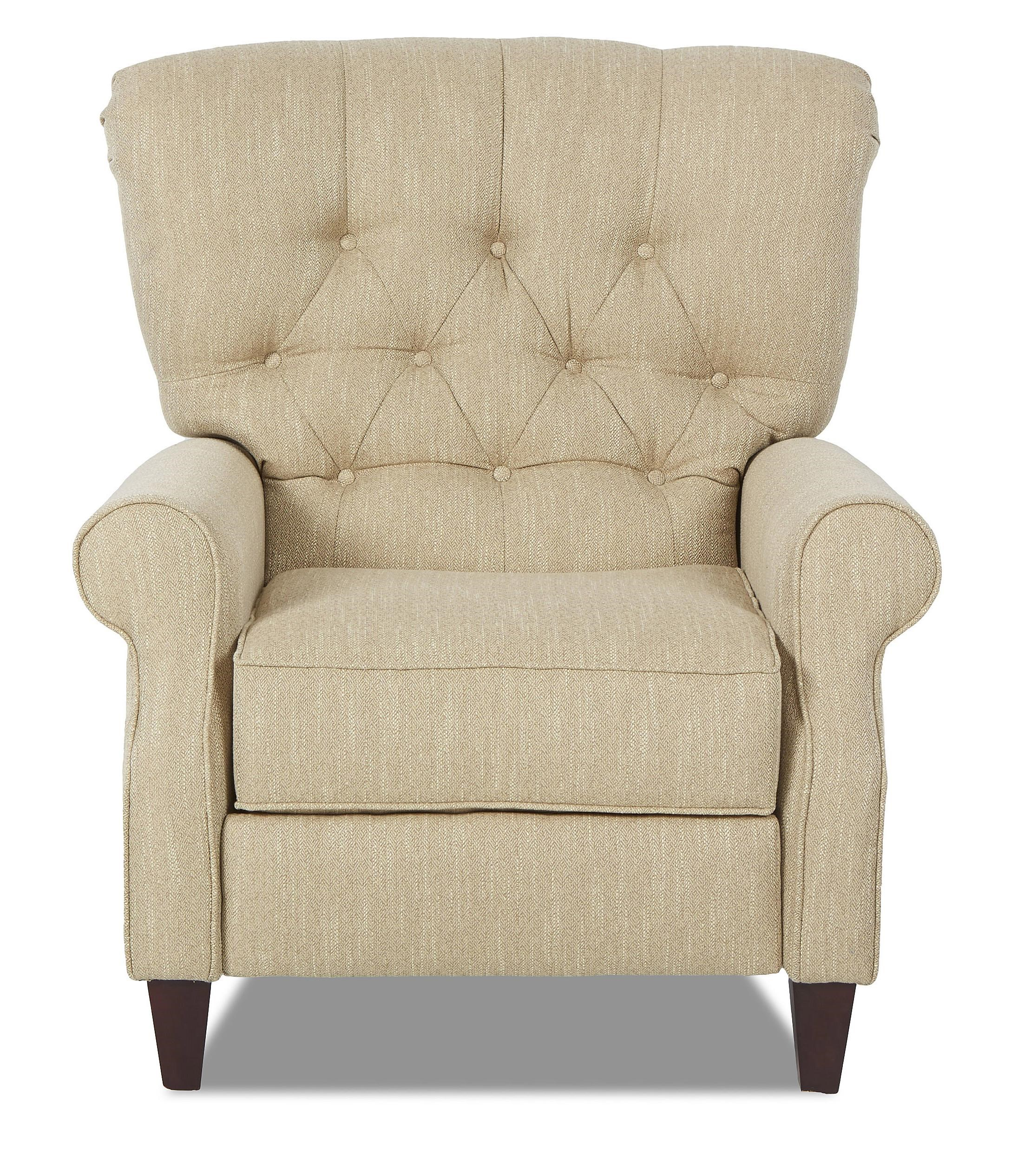Klaussner Strand Traditional Power High Leg Recliner with Tufted Back  sc 1 st  Wayside Furniture & Klaussner Strand Traditional Power High Leg Recliner with Tufted ... islam-shia.org