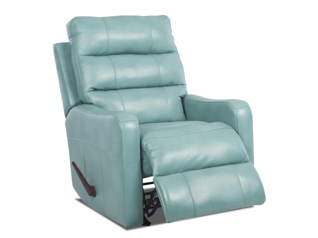 Klaussner StrikerContemporary Swivel Rocking Reclining Chair