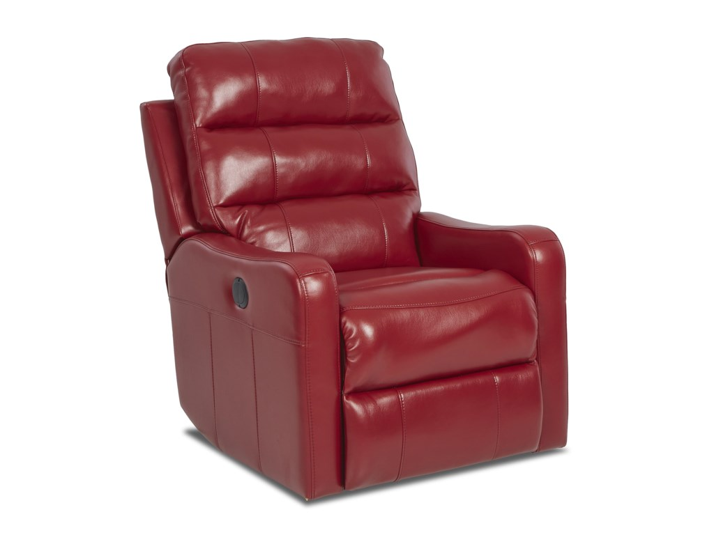 Klaussner StrikerContemporary Swivel Gliding Reclining Chair