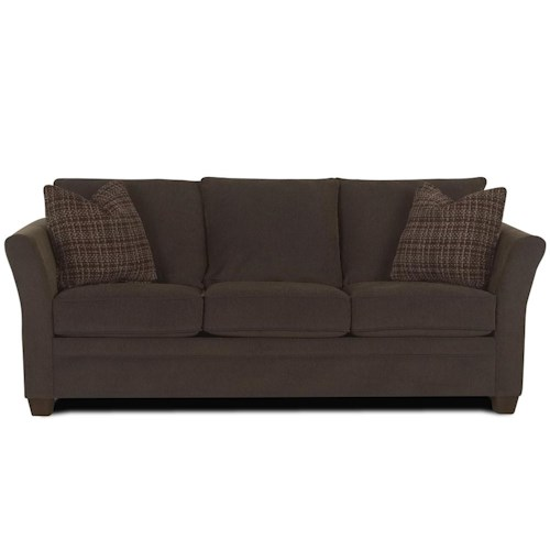Klaussner Taylor Contemporary Queen Sofa Sleeper Value City Furniture Sofa Sleeper