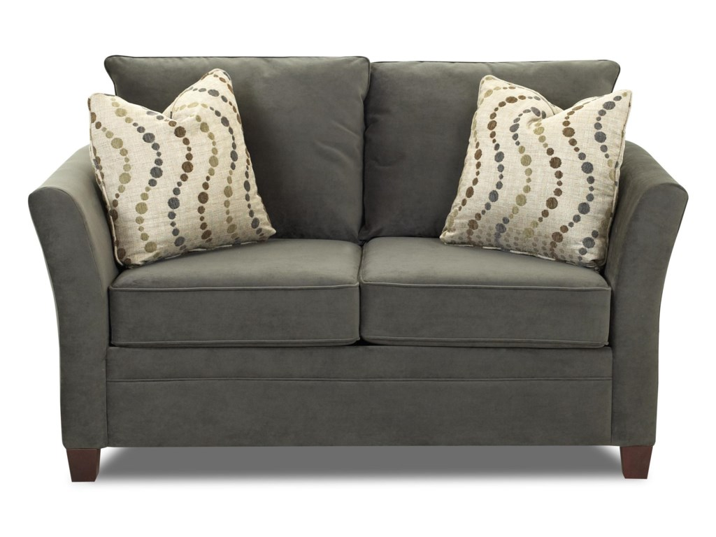Klaussner Taylor Contemporary Loveseat