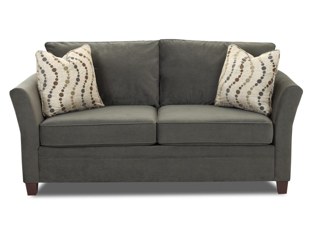 Klaussner Sofa Emory Transitional Customizable Sofa With