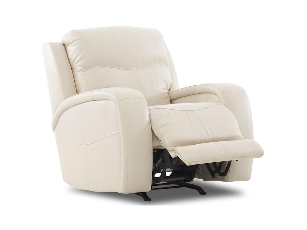 Klaussner TerraPower Recliner w/ Power Headrest & Lumbar