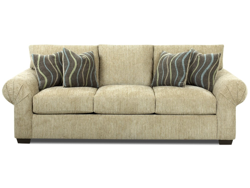 Shown in Buster Putty Fabric