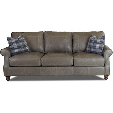 Extra Large Sofa w/ Toss Pillows