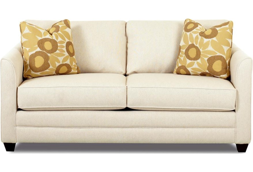 Klaussner Tilly Small Sleeper Sofa With