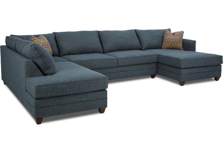 Tilly 3 Pc Sectional Sofa w/ RAF Chaise