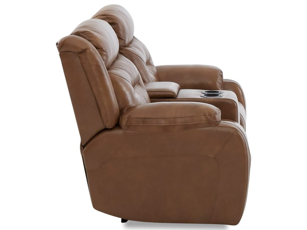 Elliston Place TonyPower Reclining LS w/console & Pwr Head/Lumb