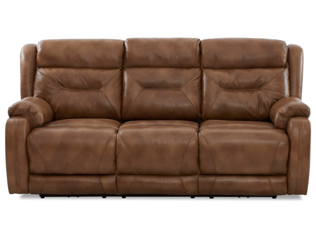 Elliston Place TonyPower Reclining Sofa w/ Pwr Head & Lumbar