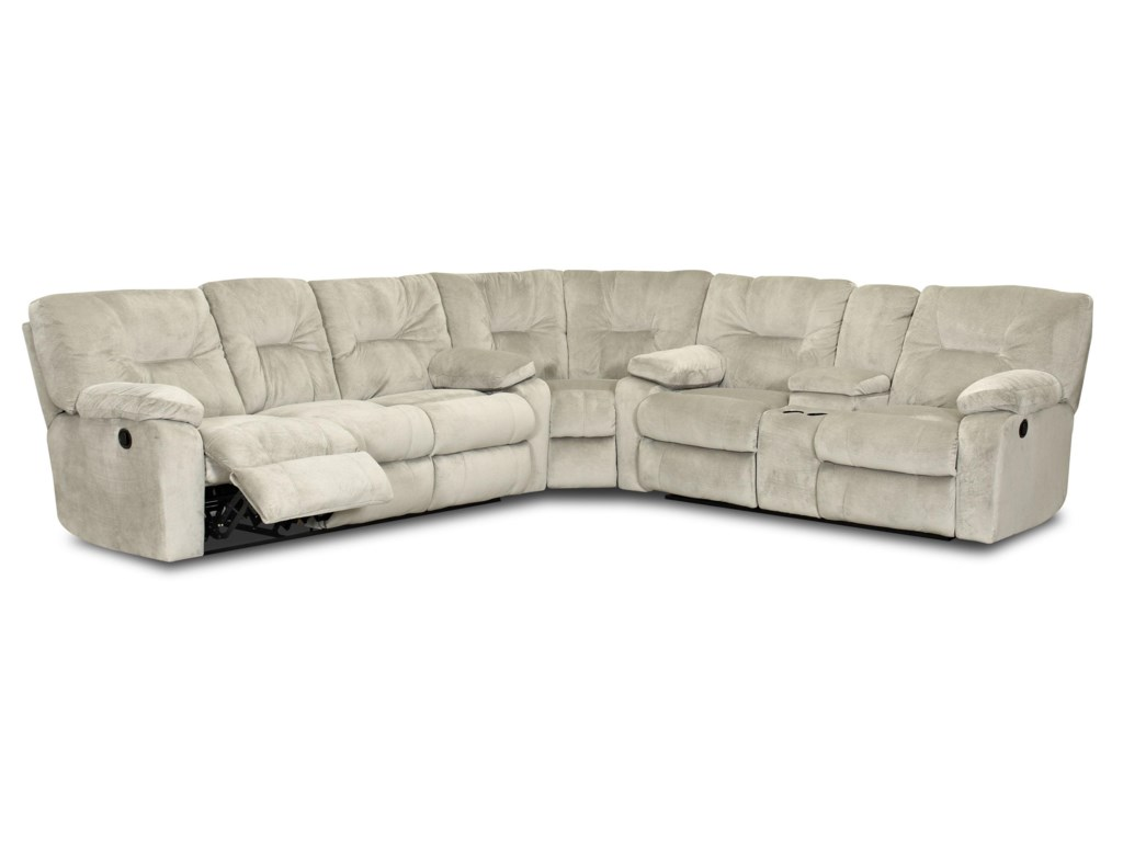 Klaussner TorontoReclining Sectional