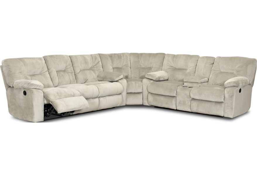 Reclining Sectional With Pillow Top