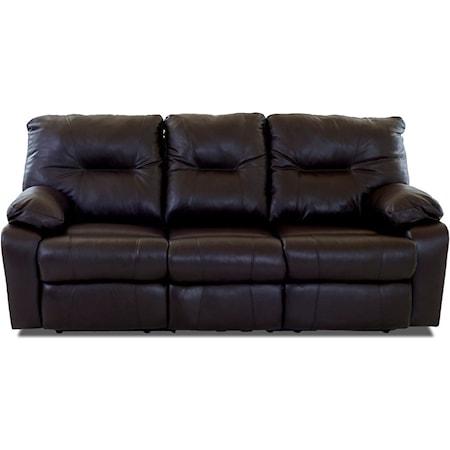 Power Reclining Sofa w/ Drop Down Table