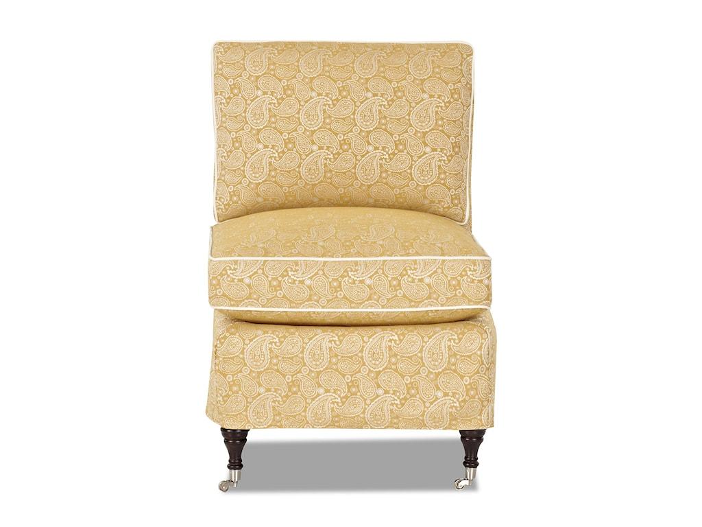 Klaussner TrixieArmless Chair