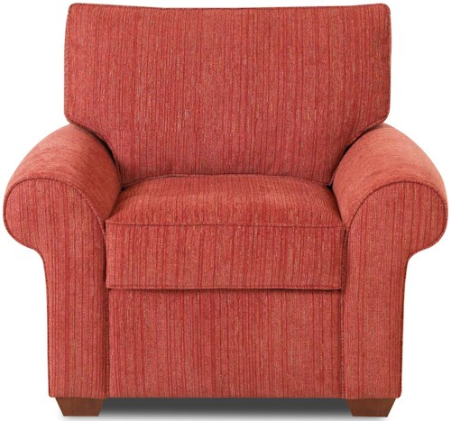 Klaussner Troupe Upholstered Chair