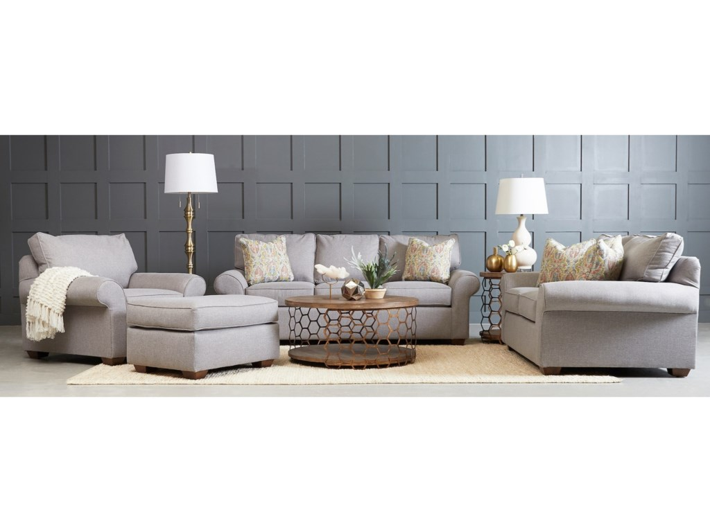 Klaussner TroupeLiving Room Group