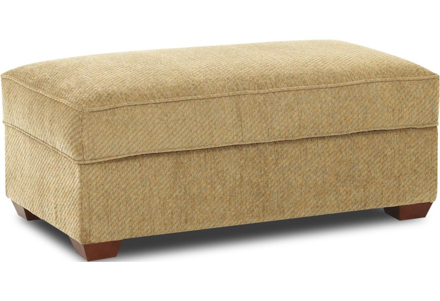 Wondrous Troupe Rectangular Cocktail Storage Ottoman By Klaussner At Dunk Bright Furniture Short Links Chair Design For Home Short Linksinfo