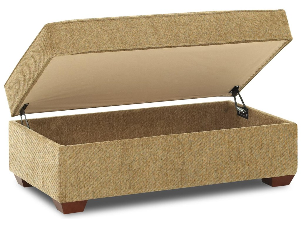 Elliston Place TroupeStorage Ottoman