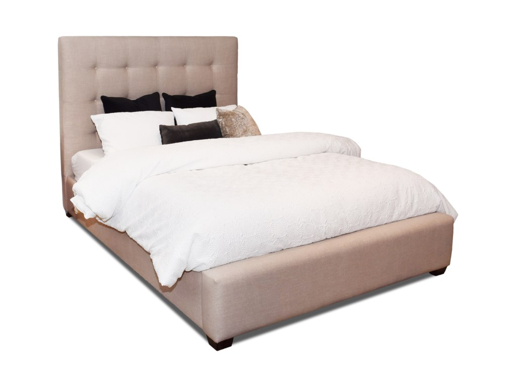Klaussner Upholstered Beds and HeadboardsMichael Bed - Queen Size