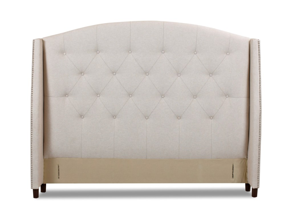 Klaussner Upholstered Beds and HeadboardsHarvard Queen Bed w/ Platform Base