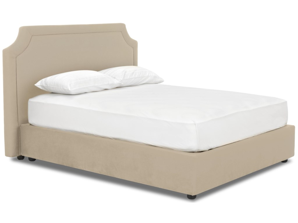 Klaussner Upholstered Beds and HeadboardsQueen Upholstered Bed