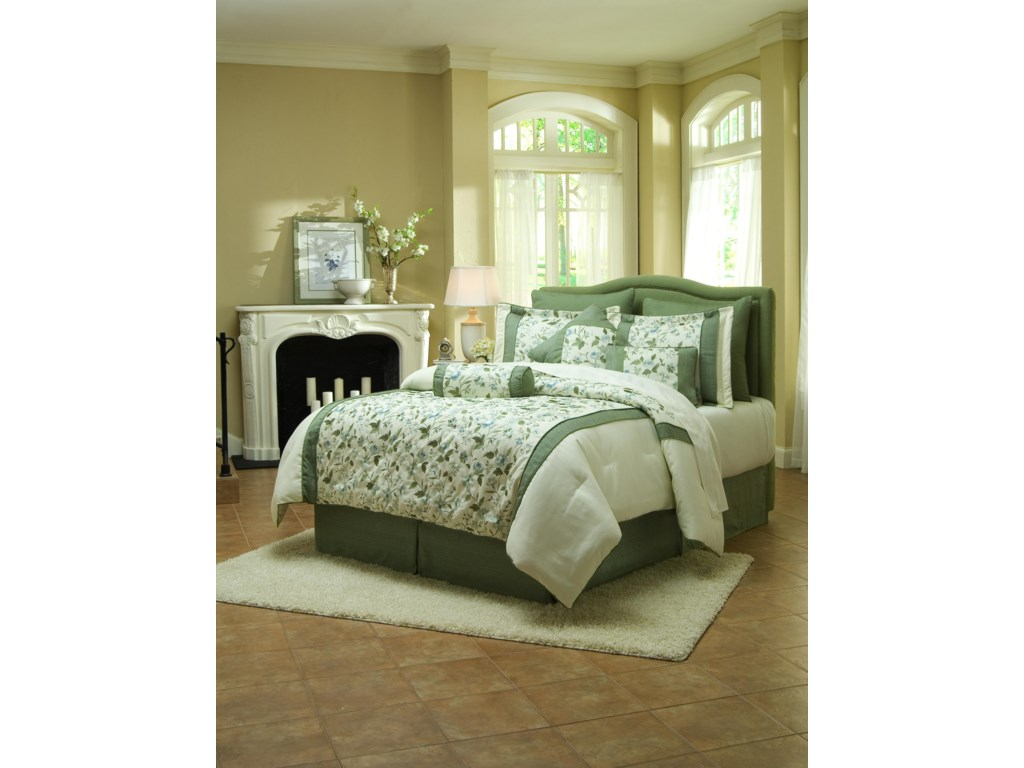 Klaussner Upholstered Beds and HeadboardsTwin Upholstered Headboard