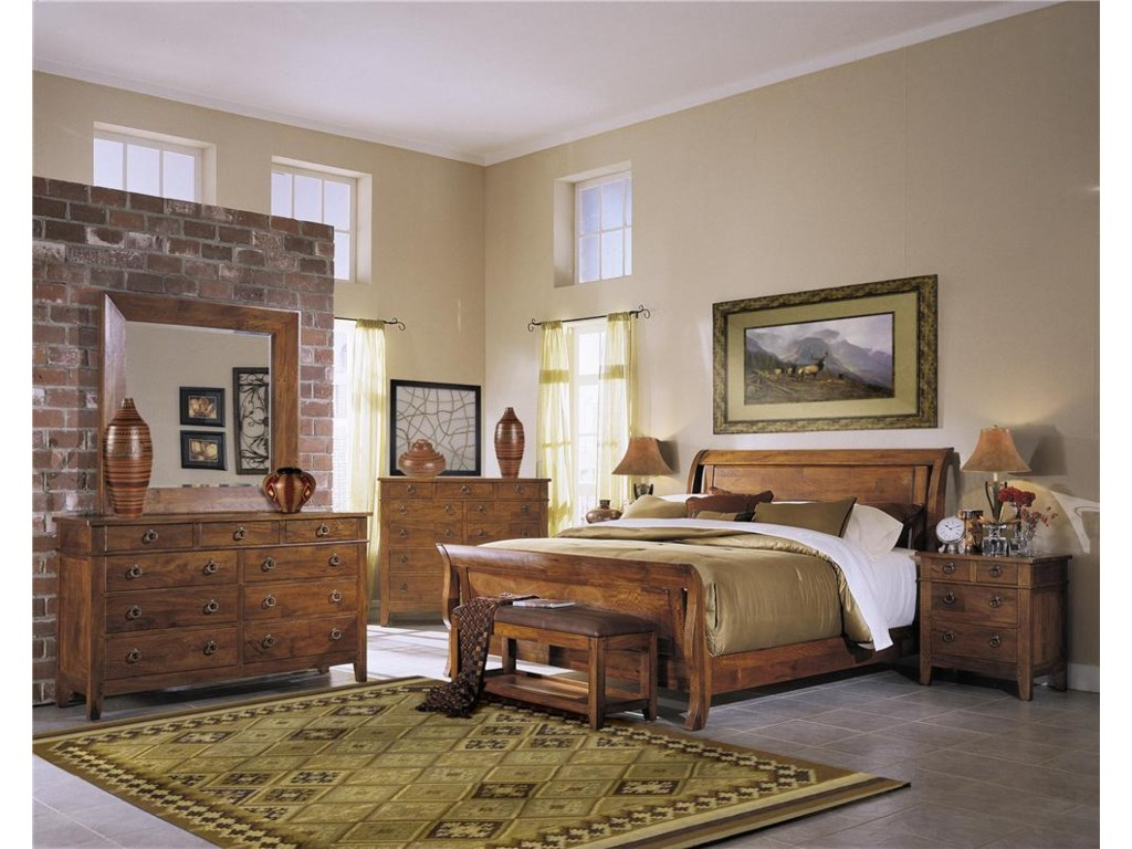 Shown with Dresser, Mirror, Chest and Nightstand