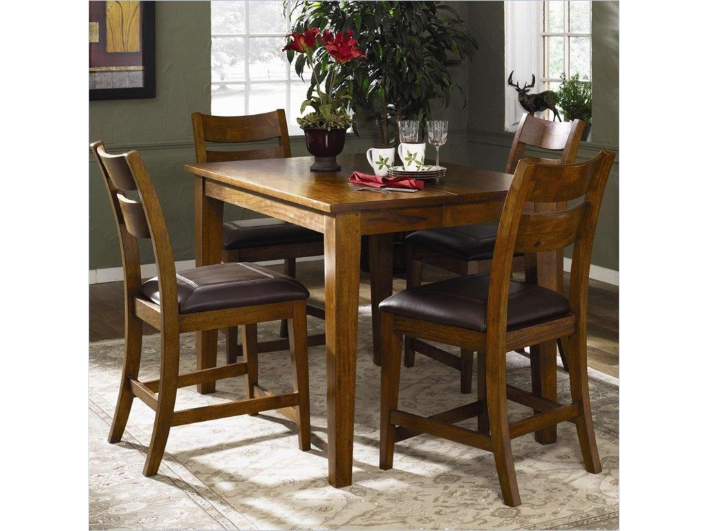 Shown as part of 5-piece Counter Height Table Set