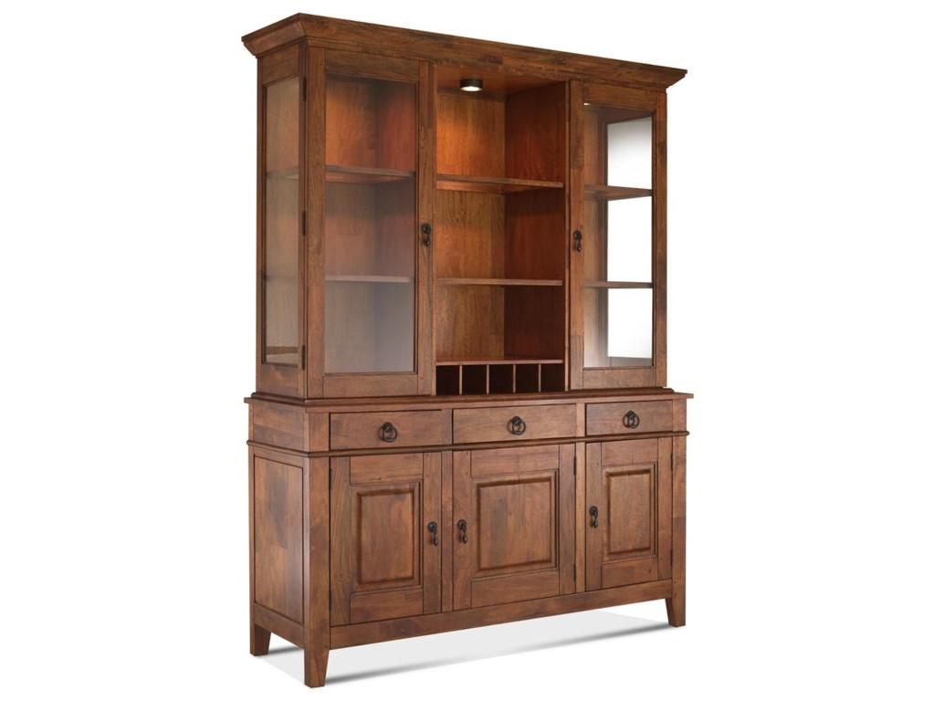 China Cabinet With Hutch Klaussner International Urban Craftsmen Buffet And Hutch Package