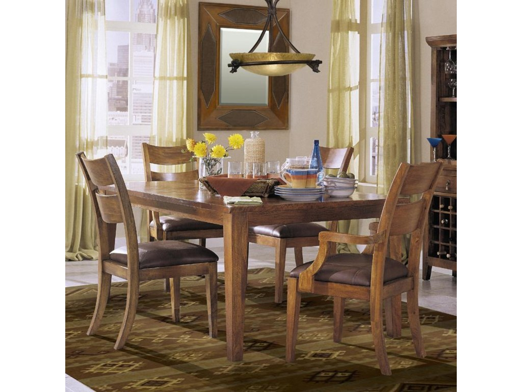 Shown as part of 5-piece dining set