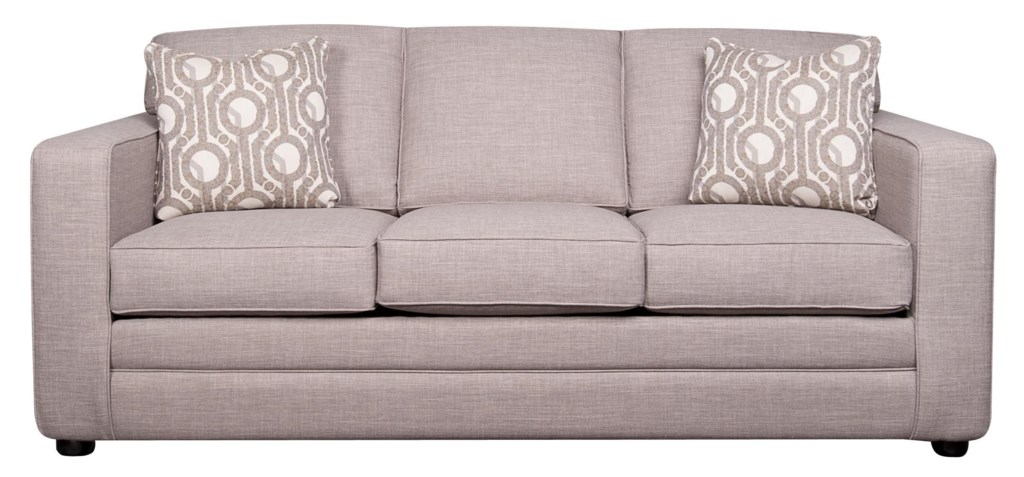 Elliston Place Vera Queen Sleeper Sofa With Memory Foam Morris