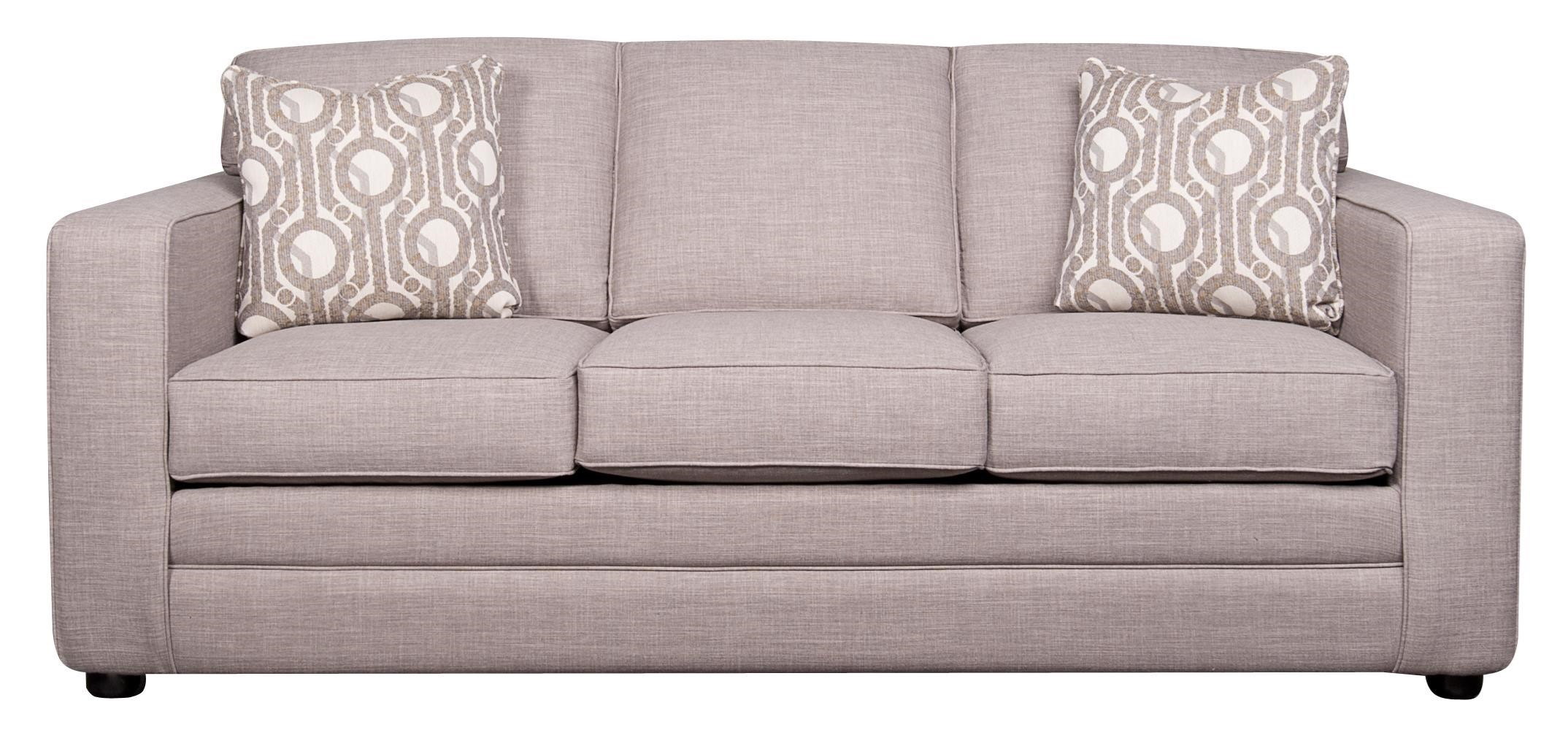 Vera Queen Sleeper Sofa With Memory Foam By Elliston Place