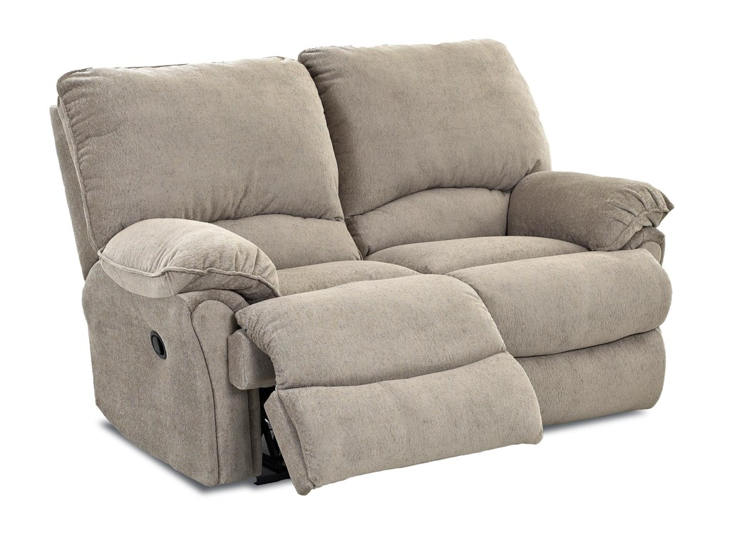 Klaussner WeatherstoneCasual Power Reclining Loveseat