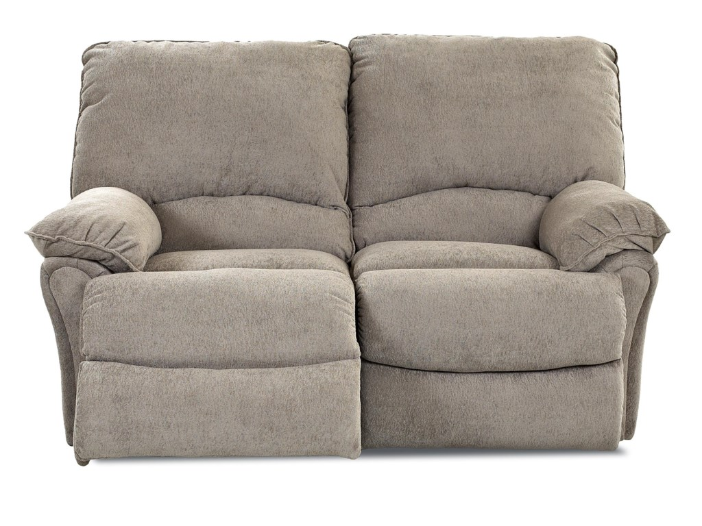 Klaussner WeatherstoneCasual Reclining Loveseat