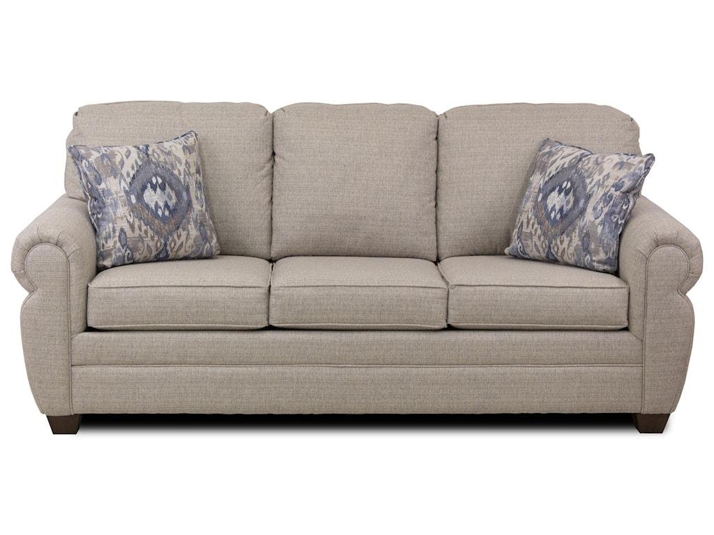 Metropia WaylonRolled Arm Sofa