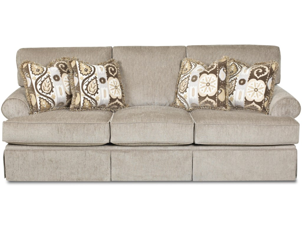 Klaussner WesterlyCasual Sleeper Sofa