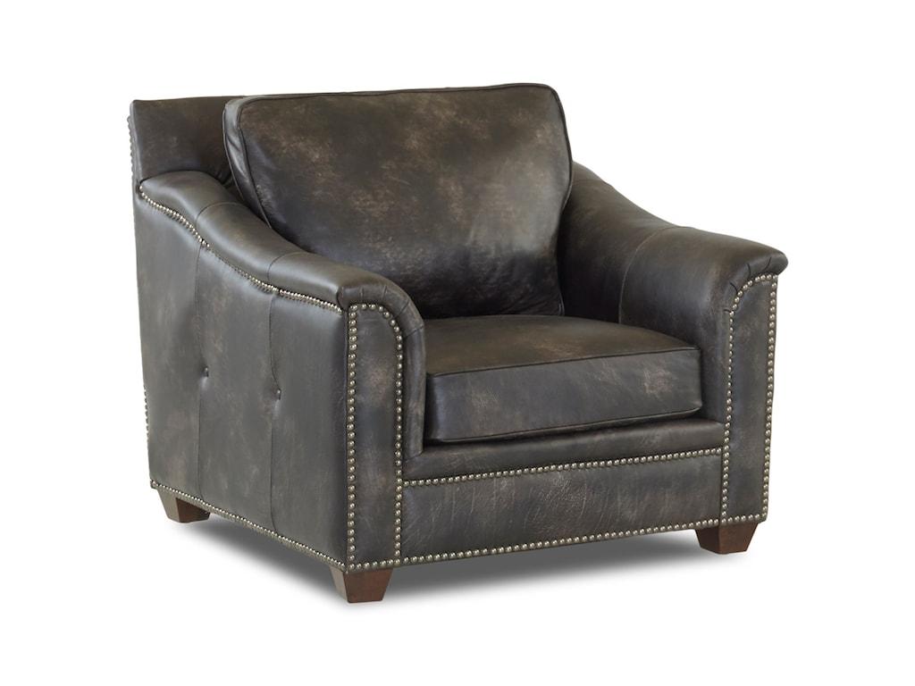 Elliston Place WilkesboroLeather Chair